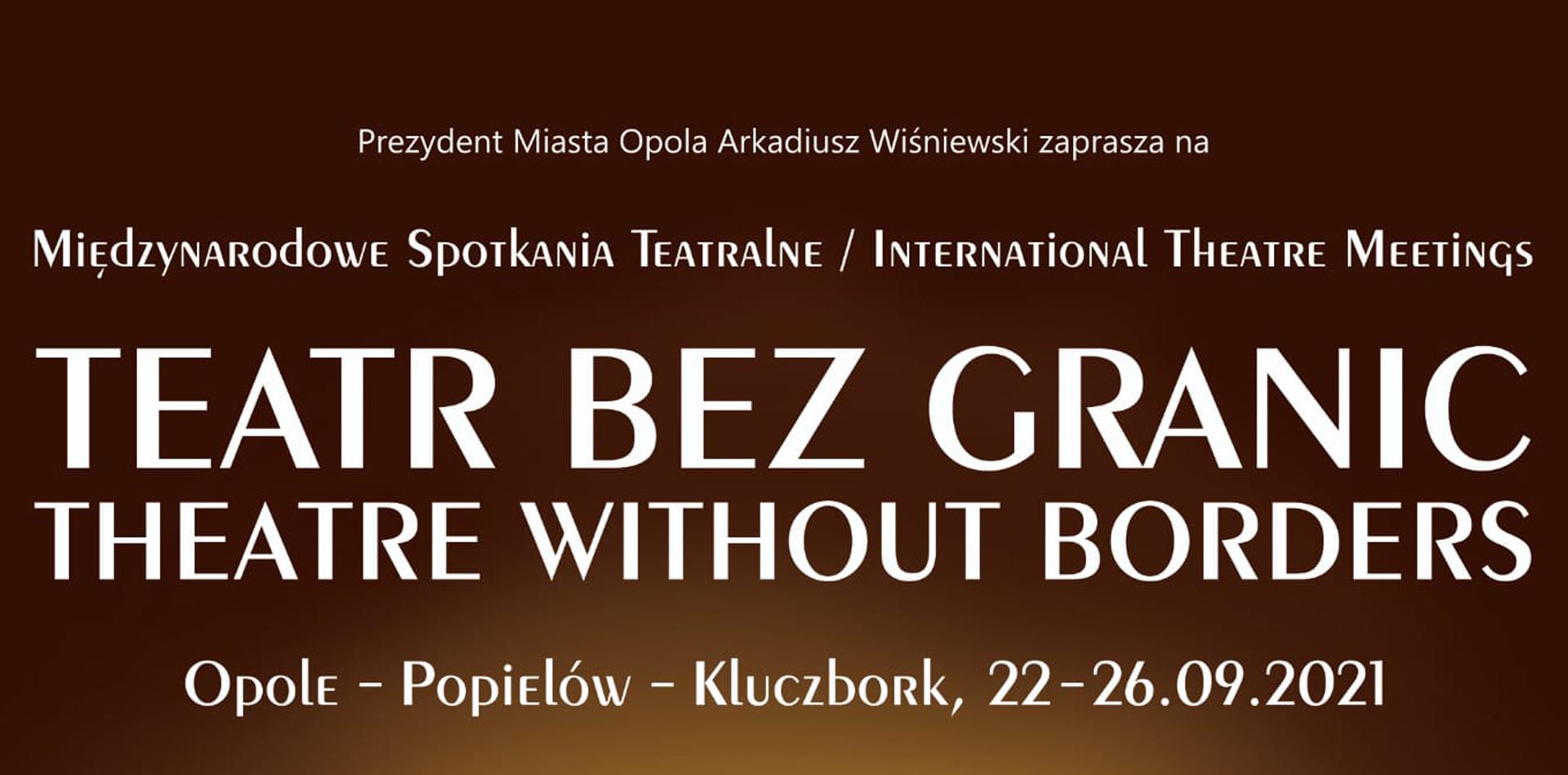 najważniejsze informacje - TeatrBez Granic
