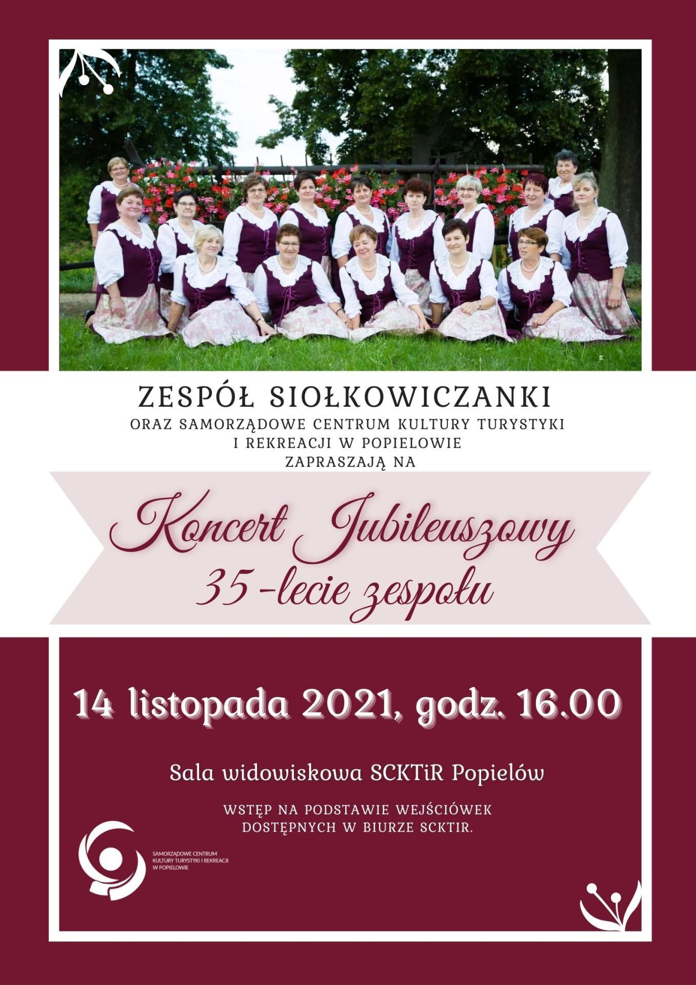 Jubileusz 35-lecia zespołu Siołkowiczanki