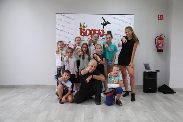 Warsztaty taneczne w Stobrawie
